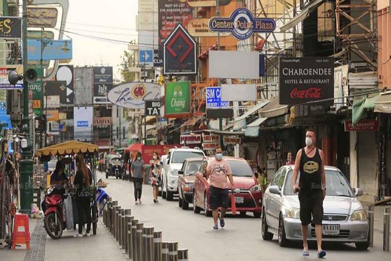 Watergevechten zouden de ondernemers van de Khao San in Bangkok enorme inkomsten opleveren