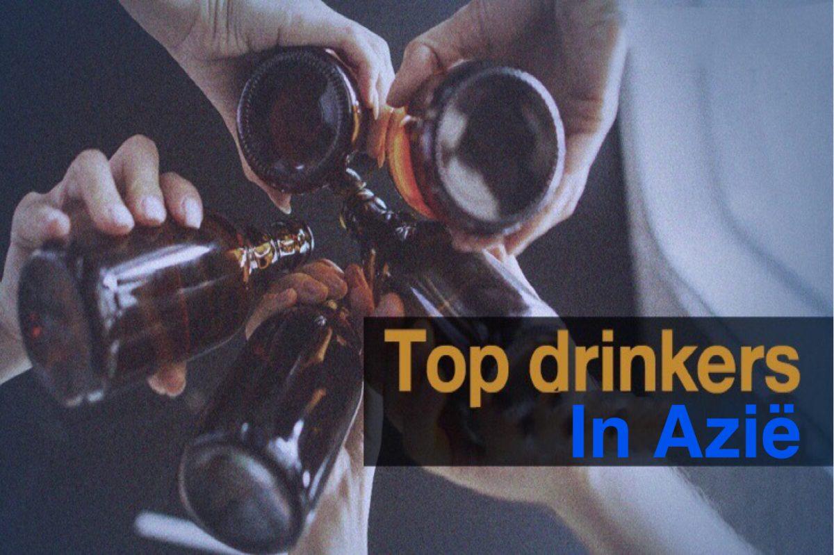 Thailand, het land in Azië dat het meeste bier achterover slaat