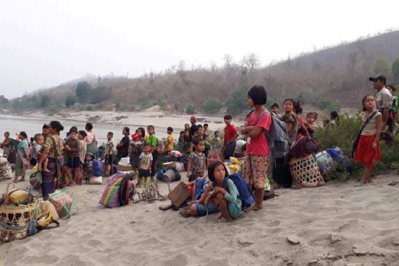 Thailand bereidt zich voor op de vluchtelingenstroom uit Myanmar