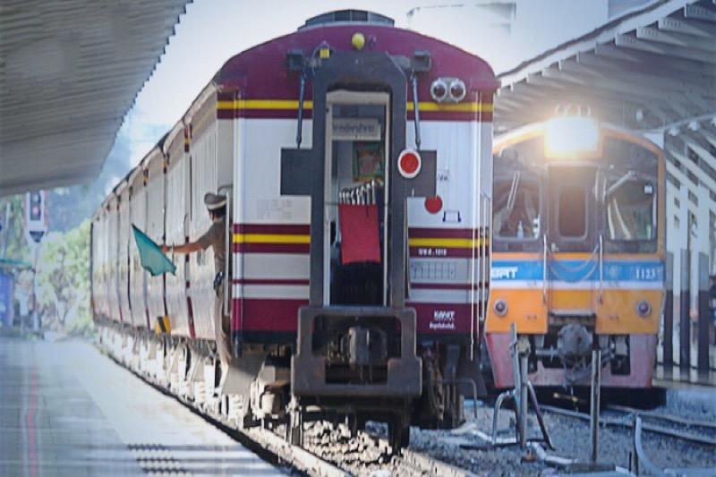 Met Songkran rijden meer treinen naar het noorden en noordoosten van het land