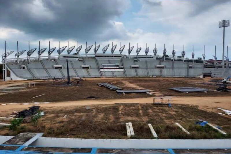 PATTAYA   De bouw van het sportstadion zal tegen het einde van het jaar worden afgerond