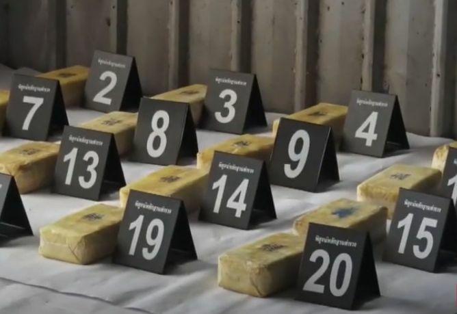 VIDEOCLIP | 7 mensen gearresteerd wegens vermeende handel in 8 miljoen methamfetamine pillen