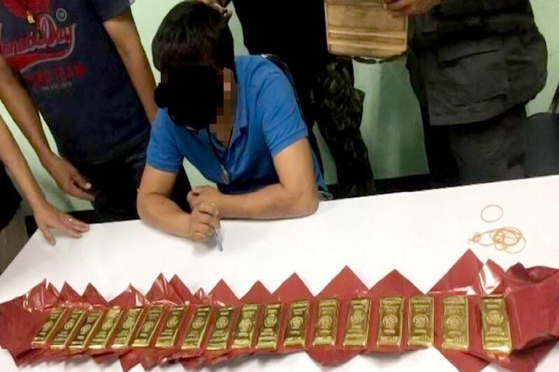 Man probeerde 32 goudstaven naar Myanmar te smokkelen