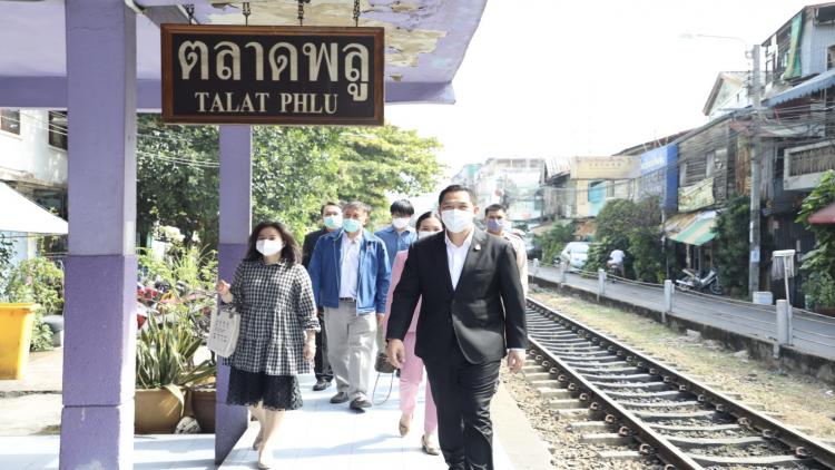 Vanaf vandaag rijden er weer treinen in de richting van Samut Sakhon en Samut Songkhram