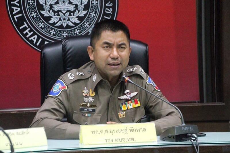 Generaal Surachate Hakparn alias 'Big Joke' krijgt een nieuwe functie op het hoofdbureau van politie