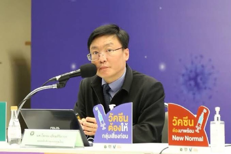 """Thailand zou zijn eigen """"worst-case-scenario"""" met 28.000 nieuwe Covid-19-gevallen per dag kunnen hebben"""