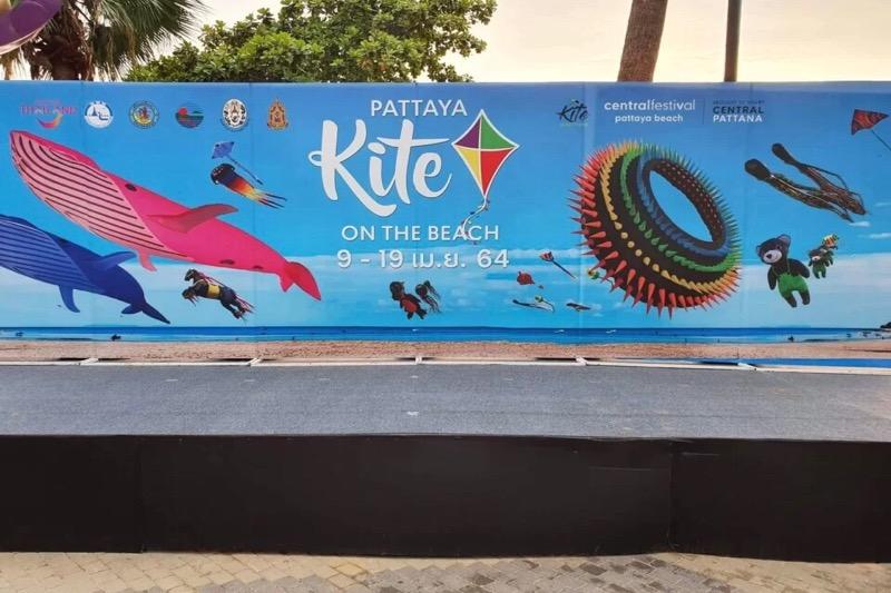 Een blik op het vliegerfestival van Pattaya deze week