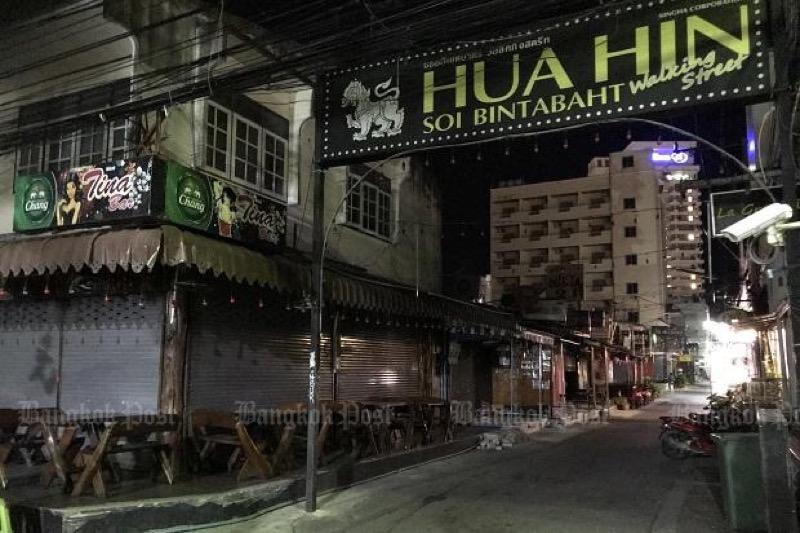 De verspreiding van het Covid19 virus in Hua Hin laat zien, hoe snel deze badplaats in het hart getroffen werd