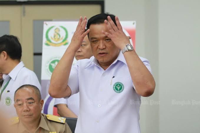 Het nieuws omtrent de dagelijkse besmettingen in Thailand bewijst dat regering geen slecht nieuws verbergt, aldus minister van Volksgezondheid