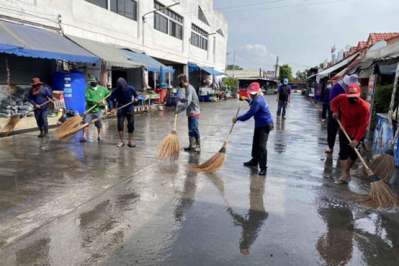 De besmette boerenmarkt in Ayutthaya blijft voorlopig nog even dicht!