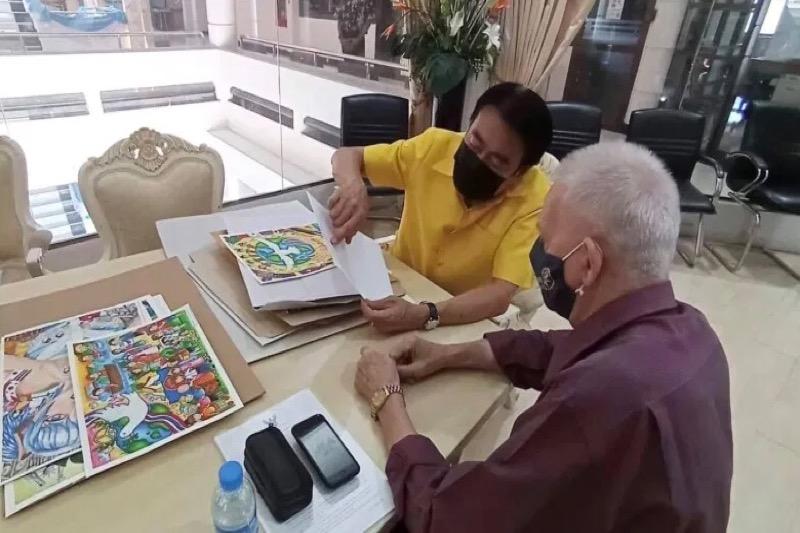 De Rotary Club van Pattaya organiseert met de kustplaats Pattaya een vredeskunstwedstrijd