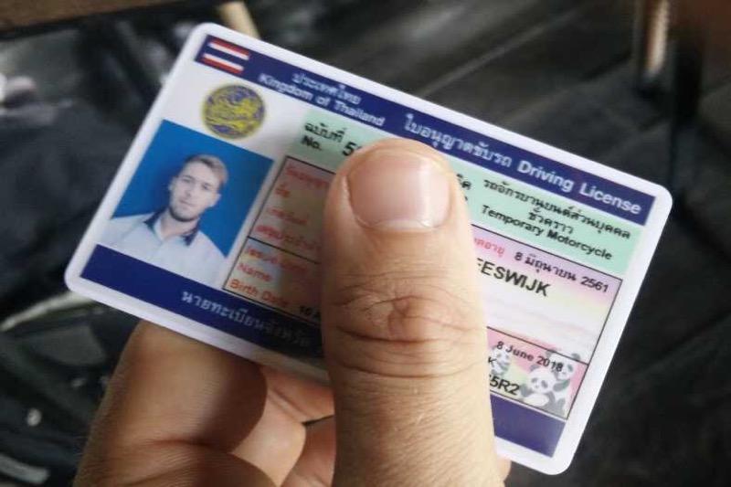 Verleng uw Thaise rijbewijs zes maanden voordat het verloopt