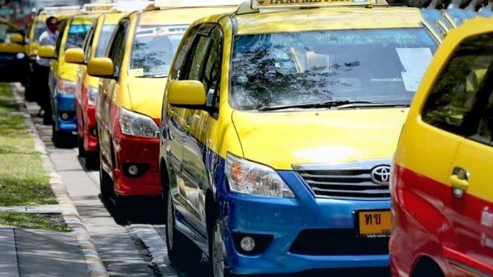 De gebruiksduur van taxi's in Thailand verlengd tot 12 jaar