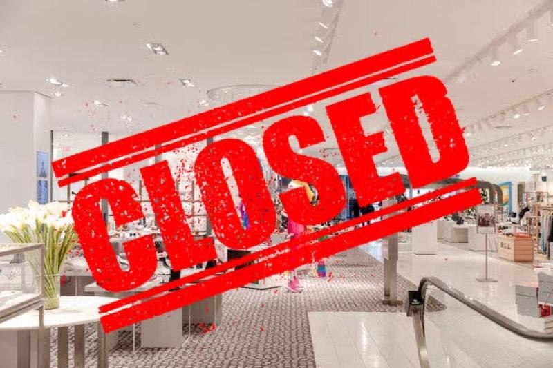 Alle winkelcentra in het land moeten vanaf vandaag om 21.00 uur sluiten.