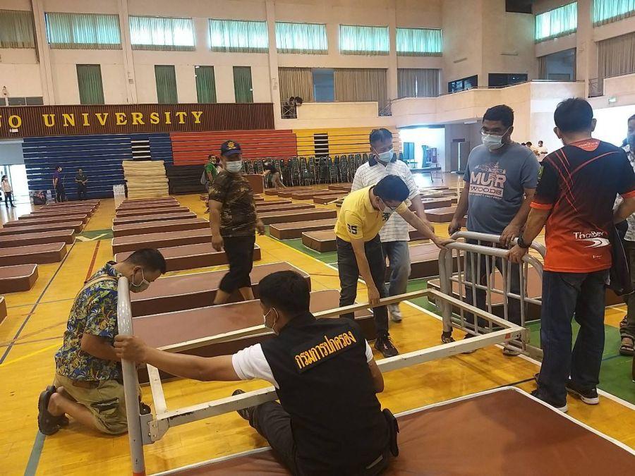 Chiang Mai opent 2e veldhospitaal omdat het aantal Covid19 blijft infecties toenemen