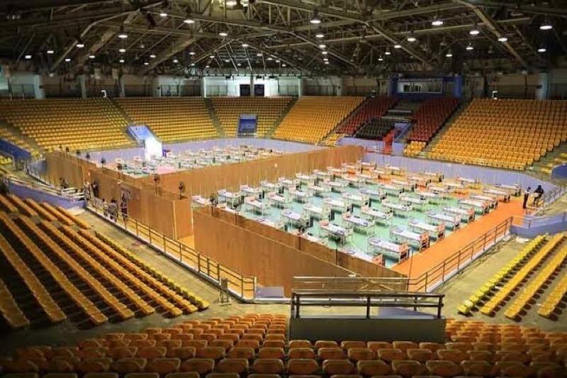 74 covid patiënten in Thailand weigeren om naar een veldhospitaal te gaan