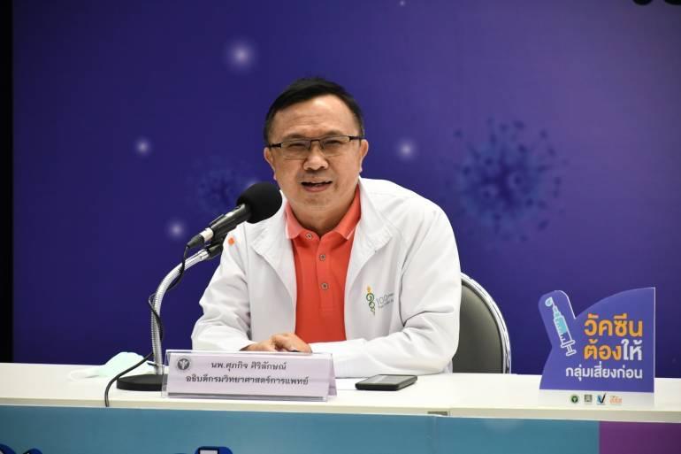FDA THAILAND raadt geen sneltests aan om de immuniteit te beoordelen