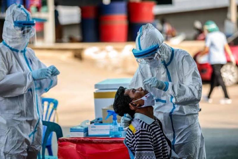 Thailand maakte in de afgelopen 24 uur de grootste sprong in aantal nieuwe Covid19 infecties