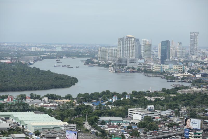 In de hoofdstad Bangkok daalt de huur voor de expats in rap tempo