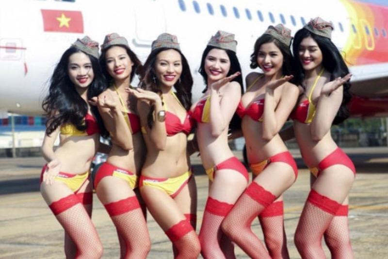 """De Vietnamese vliegmaatschappij """"Vietjet"""" herstart haar internationale vluchten"""