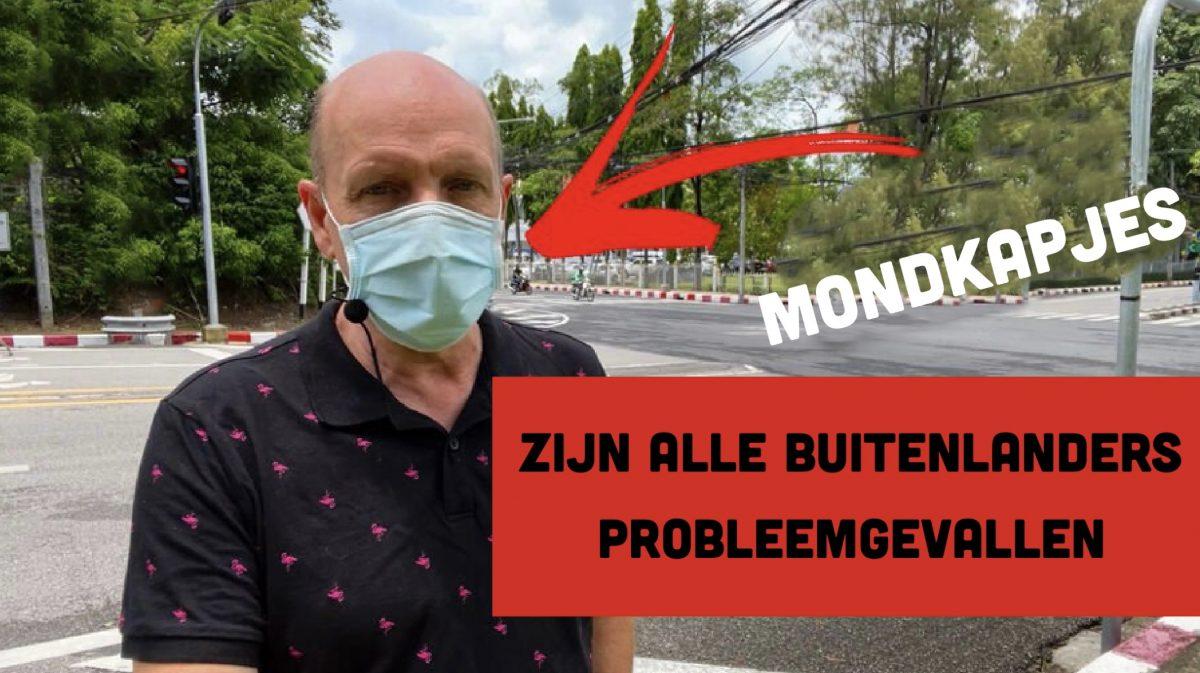 VIDEOCLIP | Buitenlanders die in Thailand geen mondkapjes dragen zijn probleemgevallen, zo meent de vice-gouverneur van Phuket