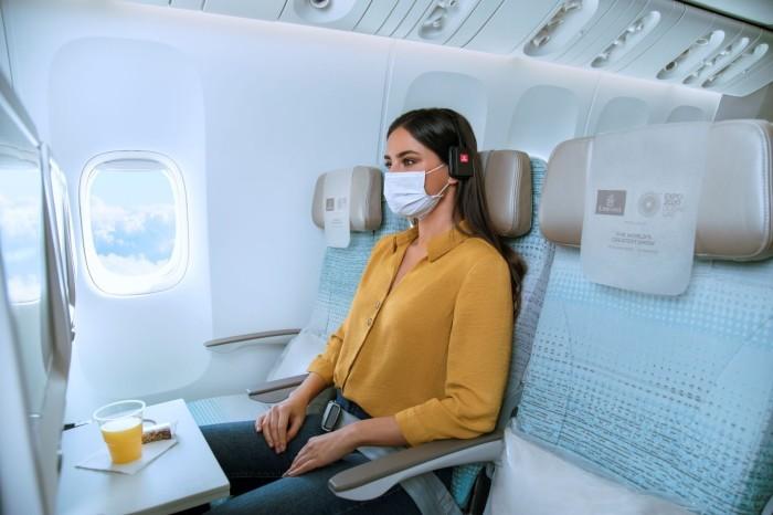 Emirates ontdekt een gat in de markt: vliegen zonder dat er iemand naast je zit