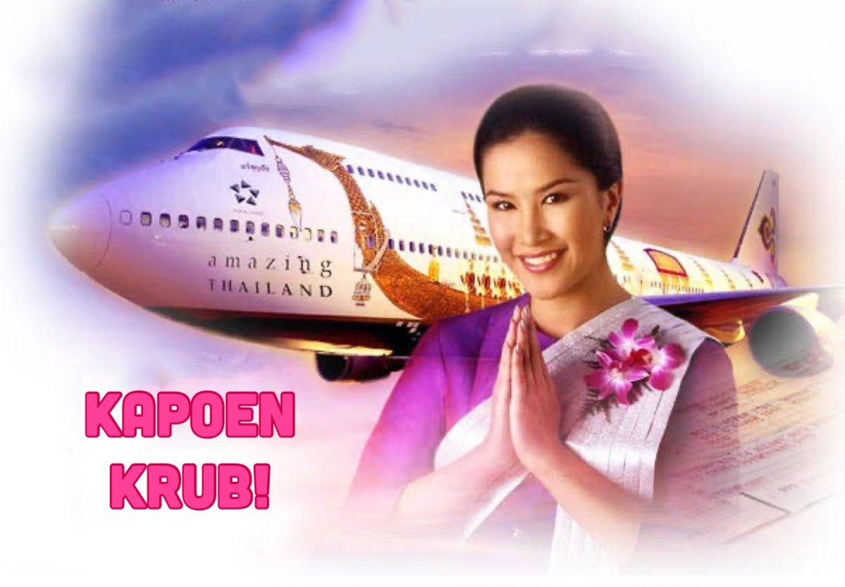 De Thaise minister van Toerisme en sport overweegt gratis vluchten voor buitenlandse vakantiegangers