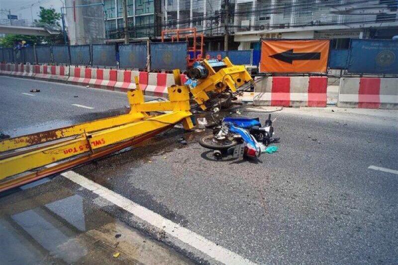 De BMA stopt met bouw MRT Yellow Line na kraanongeval