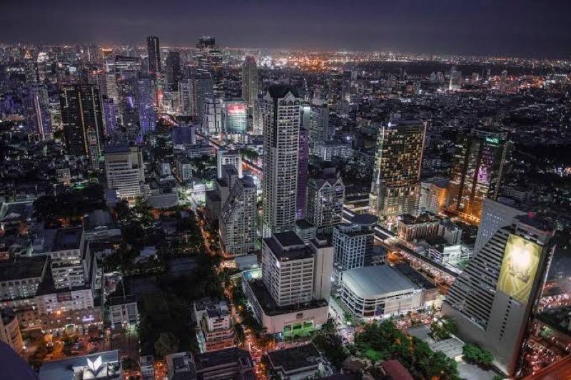 De grondprijzen in Bangkok en omgeving zijn dalende