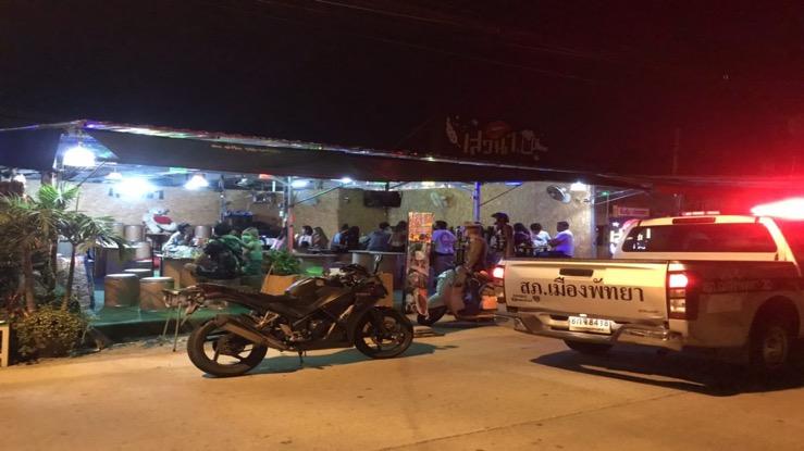 Restaurant in Pattaya gesloten vanwege de verkoop van sterke drank
