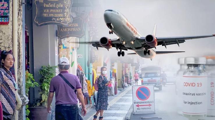Zonder negatief Covid19 testbewijs komt U niet in het vliegtuig naar Phuket