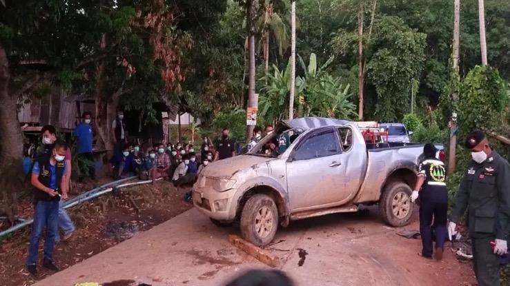 Politie Kanchanaburi pakt op één dag meer dan 100 gesmokkelde Myanmar-migranten in het nekvel
