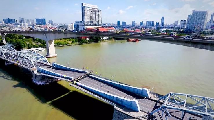 De Krung Thep-brug in Bangkok zal morgen, donderdag 20 mei vanaf 22.00 uur gesloten zijn