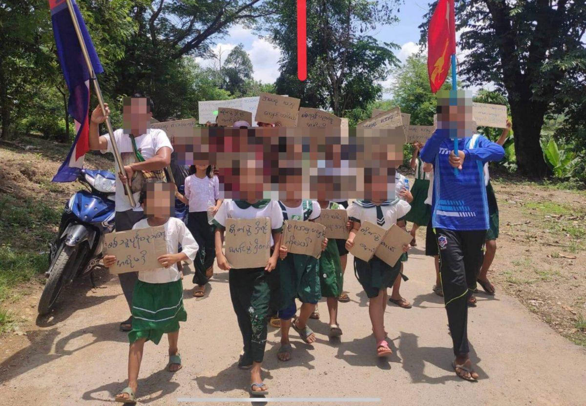 Minstens 73 kinderen door junta-troepen in Myanmar omgebracht, het dodental stijgt nog steeds!