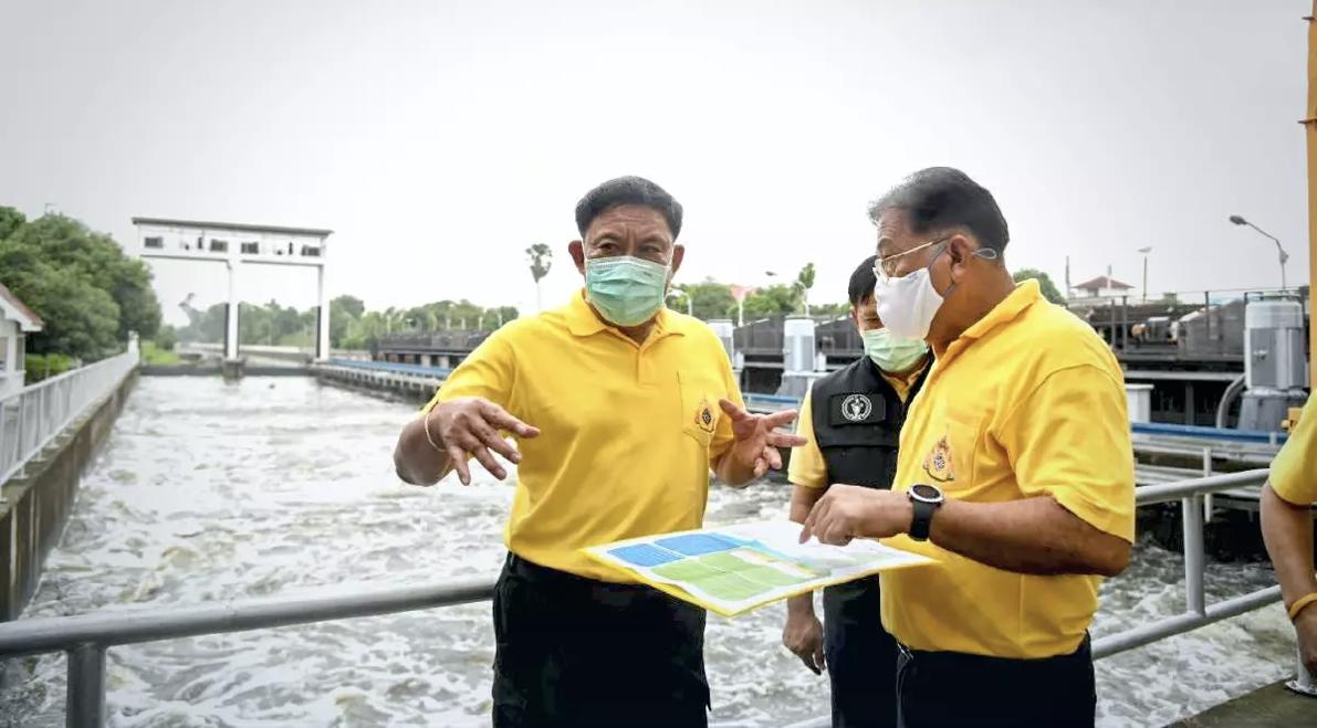 Bangkok zet zich schrap voor het regenseizoen