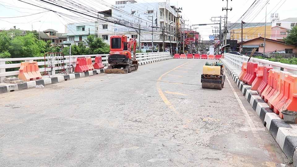 De werkzaamheden van de hogesnelheidstreinverbinding naar Rayong veroorzaken wat overlast