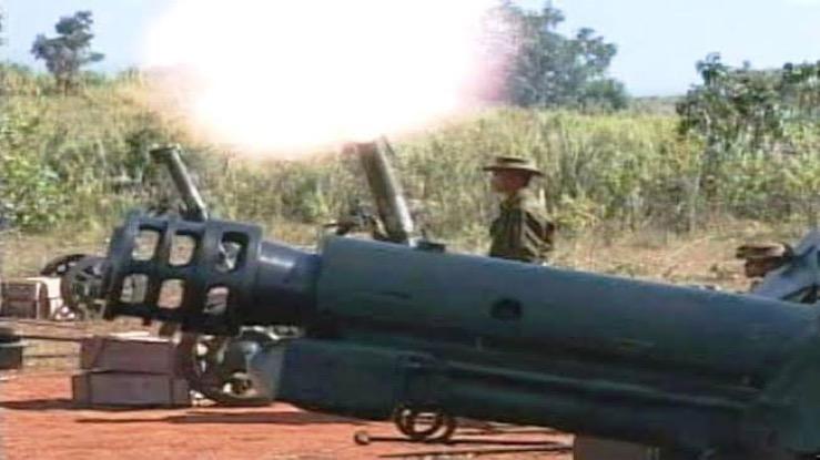Myanmar vuurt mortieren af op Thais grondgebied