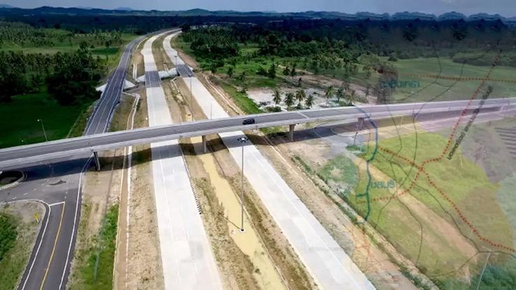Het Thais Ministerie van Transport gaat om 7,2 miljard Baht aan de wegen in de oostelijke economische corridor besteden