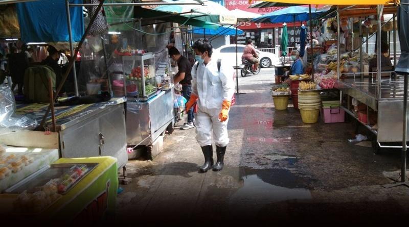 De stad Nonthaburi sluit 2 grote markten om verspreiding Covid19 virus te voorkomen