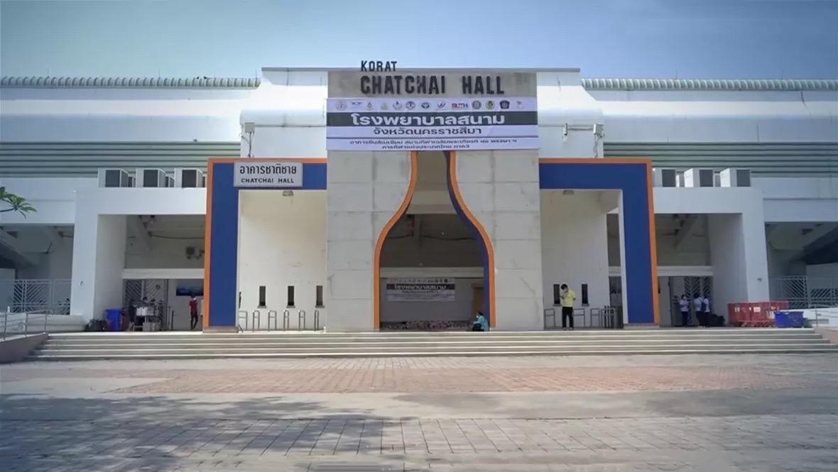 In de Isaan neemt het aantal infecties af, het veldhospitaal met 200 bedden in Nakhon Ratchasima gaat sluiten