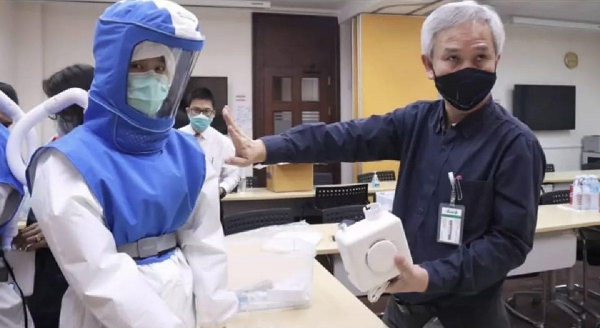 De Nationale Onderzoeksraad van Thailand komt met nieuwere, betere beschermingsmiddelen voor medici