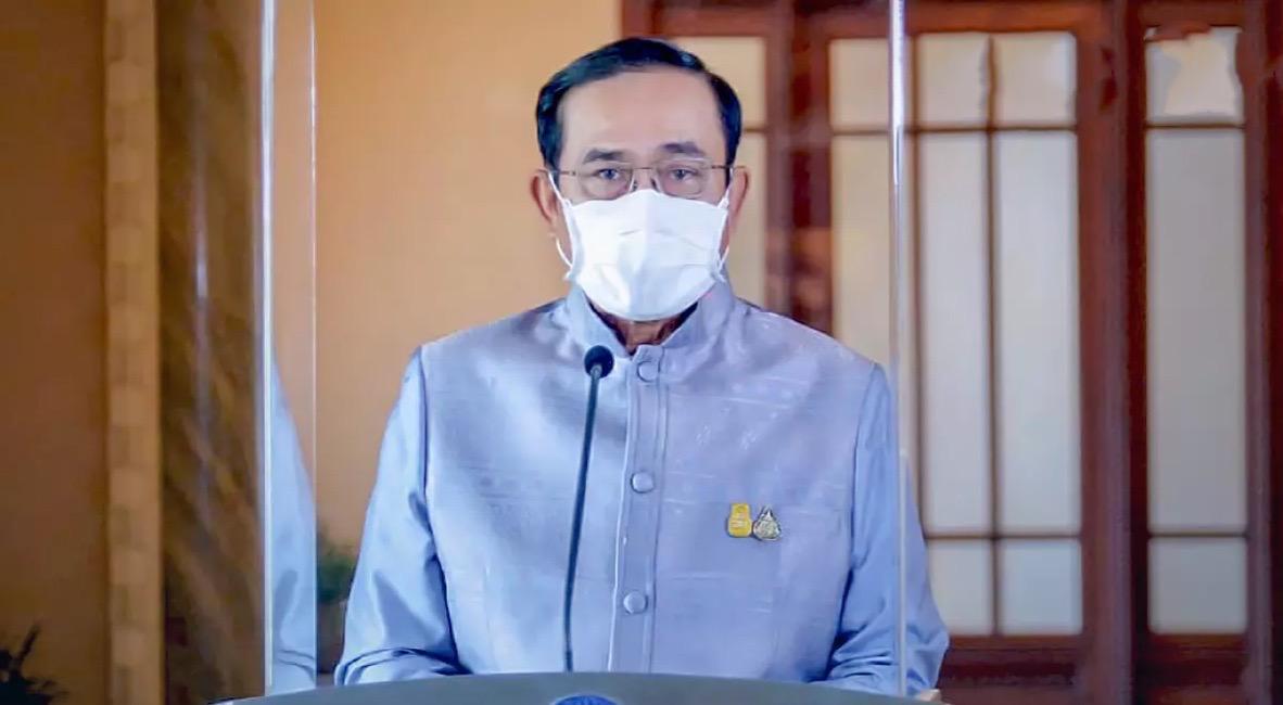 Premier Prayut biedt zijn excuses aan voor de 'vele problemen' tijdens de nationale vaccinatiecampagne