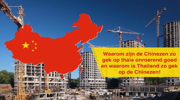 Meer dan 50% van alle Thaise appartementen die in buitenlandse handen zijn hebben Chinese eigenaren!