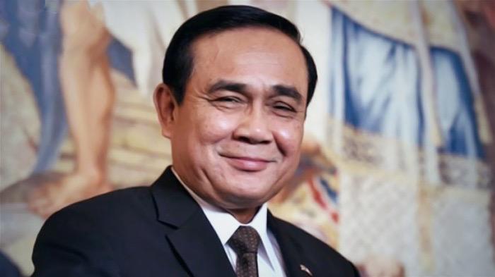 De Thaise pr campagne voor Premier Prayut Chan-o-Cha bij Thaise critici niet warm ontvangen
