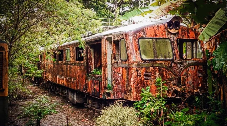 VIDEOCLIP   Overblijfselen van de Thaise spoorweggeschiedenis teruggevonden in de jungle