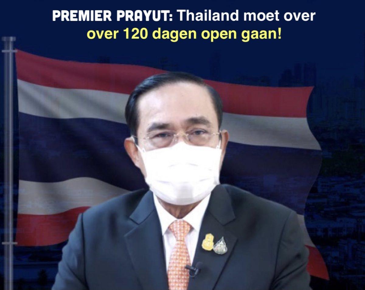 De Thaise politiek reageert op de uitspraak van premier Prayut dat het koninkrijk over 120 dagen voor het buitenlands toerisme heropent