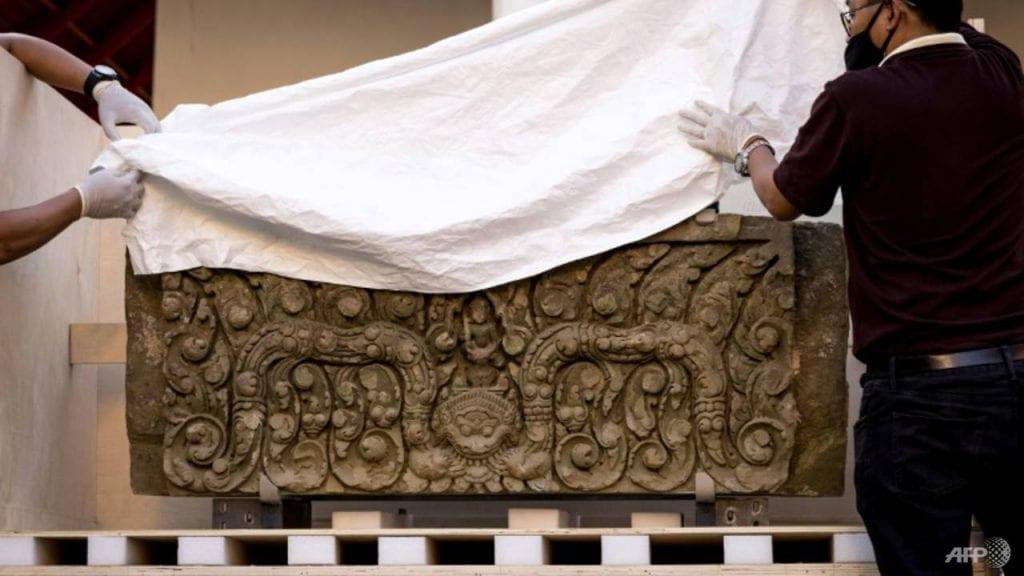 Thais museum onthult 1000 jaar oude gestolen door VS teruggegeven kunstschatten