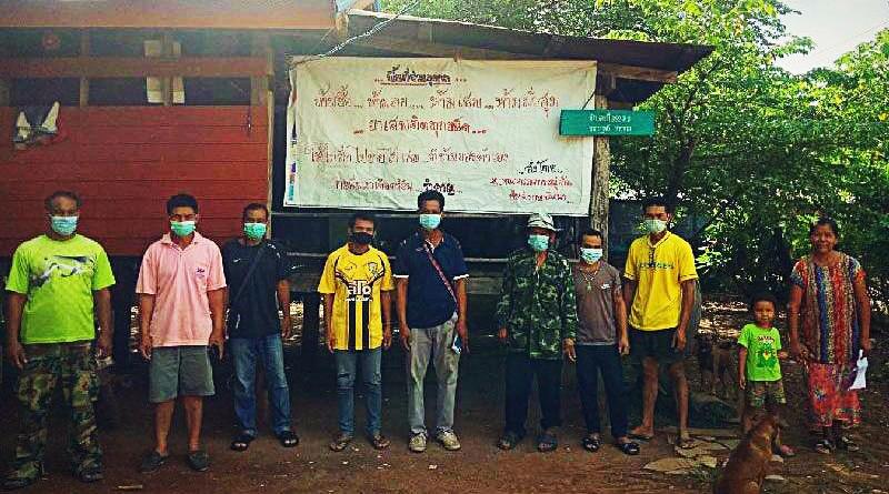 Thaise huiseigenaar heeft tabak van drugsgebruikers.