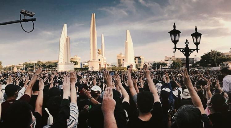 De protestgroepen in Bangkok beloven dit weekend doorlopende demonstraties