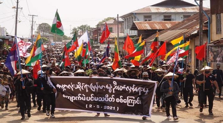 Volgens een VN-rapport: krijgt Myanmar te maken met grotehongersnood en dodelijke slachtoffers